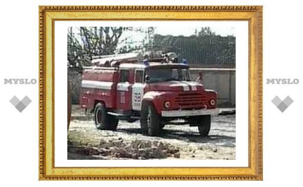 В красноярском общежитии сгорел человек