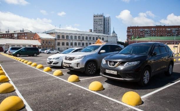 5 000 парковочных мест будут доступны тулякам и гостям Тулы в День города