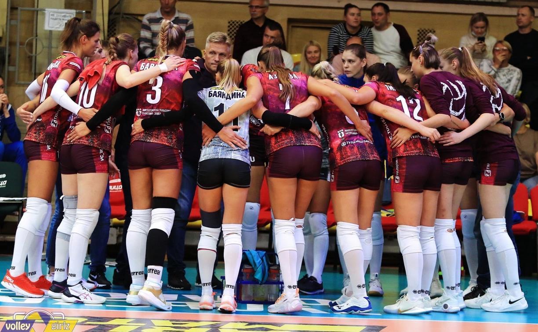 Волейболистки «Тулицы» начали выступление на Кубке России с победы