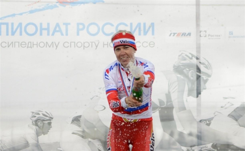 Москвичка Татьяна Антошина стала победительницей группового этапа велогонки-шоссе