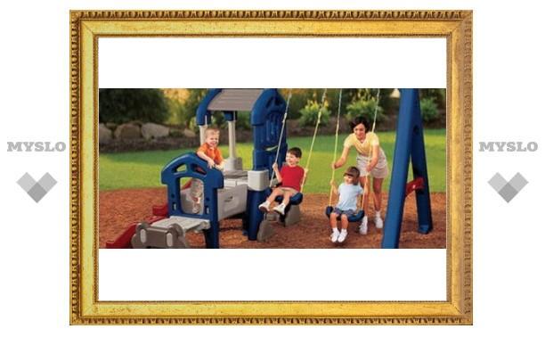 В Туле появится новая детская площадка