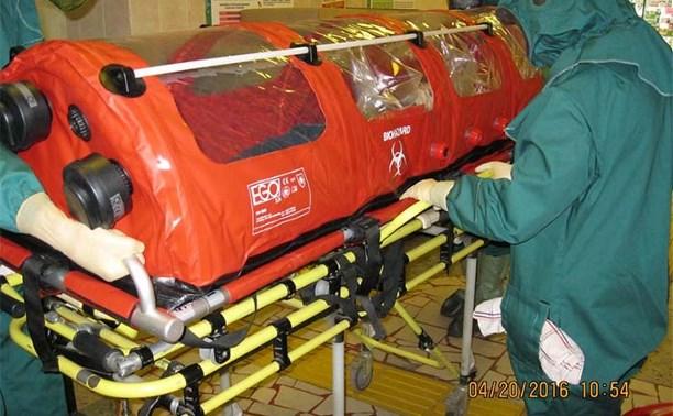 В Роспотребнадзоре отработали действия при «заражении» туляка лихорадкой Эбола