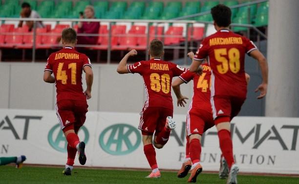Молодежка «Арсенала» победила в Грозном