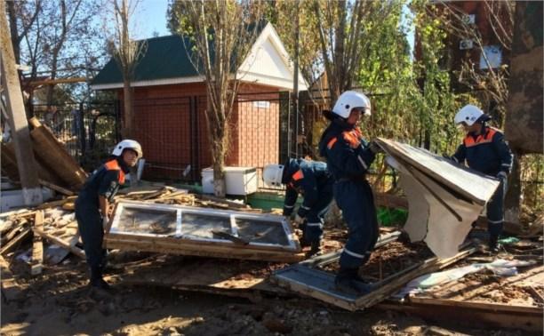 Тульские спасатели вернулись из зоны ЧС на юге страны