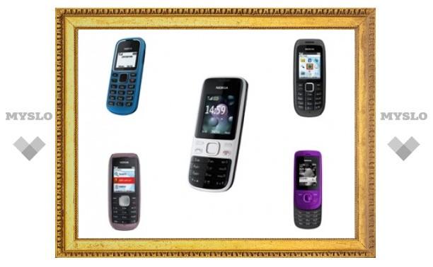 Nokia выпустит пять бюджетных телефонов