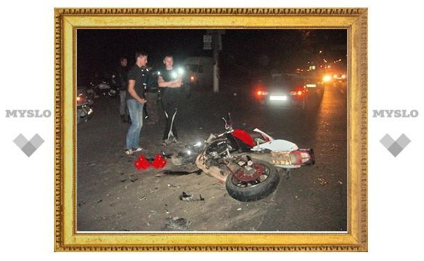 Ночной гонщик разбился из-за таксиста