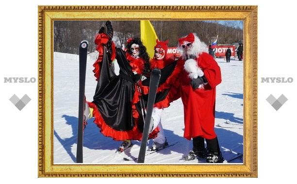 Феерия цвета на весенне-зимнем карнавале