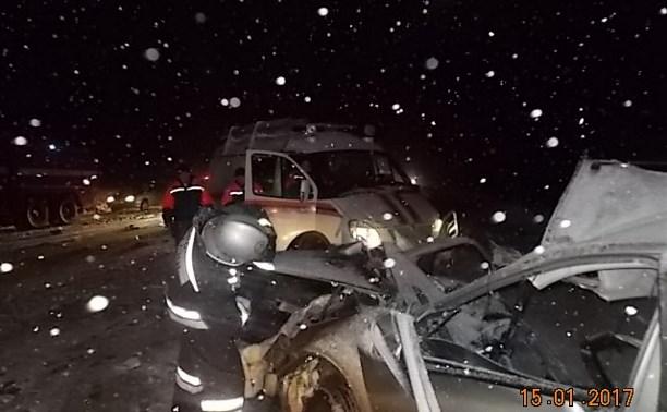 Под Тулой в ДТП погибли мужчина и новорождённый ребёнок
