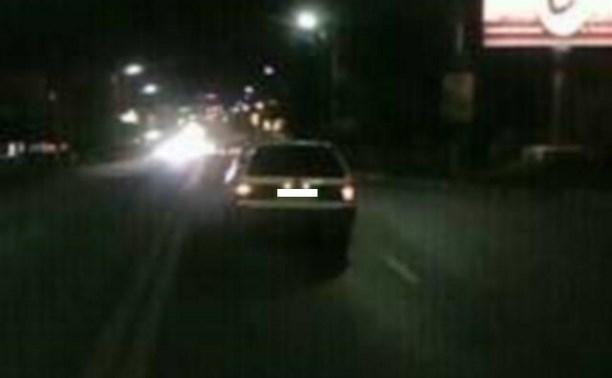 «Фольксваген» сбил пешехода на ул. Октябрьской
