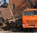 В историческом центре Тулы сносят незаконные постройки