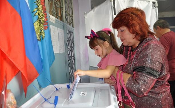 Более 200 тысяч жителей Тульской области проголосовали к 15 часам
