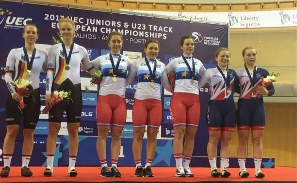 Тульские велогонщики завоевали медали на Первенстве Европы