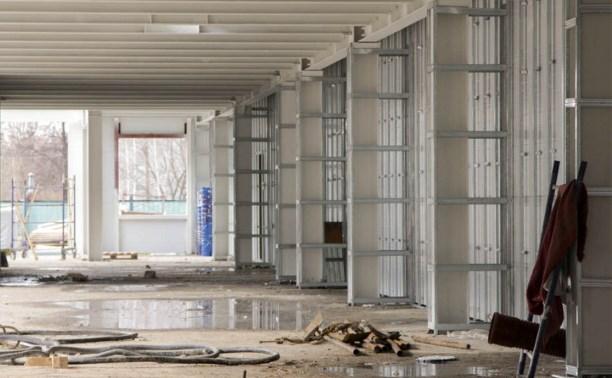 В Туле завершается строительство центра художественной гимнастики