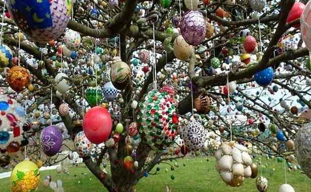 Туляков приглашают украсить «Пасхальное дерево»