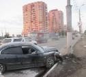 Врезавшийся в столб водитель Hyundai Sonata отказался от тестирования на алкоголь