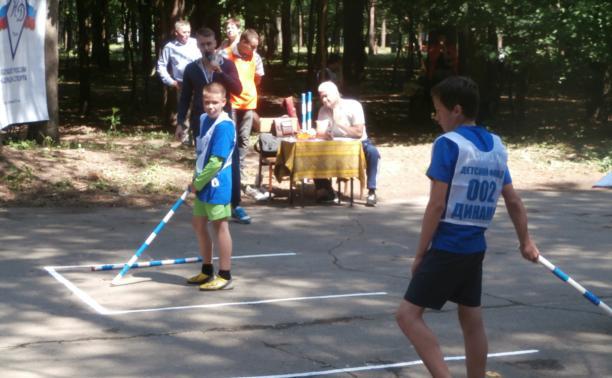 В Туле прошли соревнования по городошному спорту