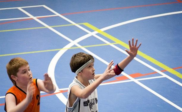 Юные тульские баскетболисты заняли второе место на первенстве округа