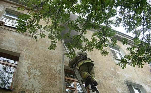 На пожаре в Советском районе пострадал человек