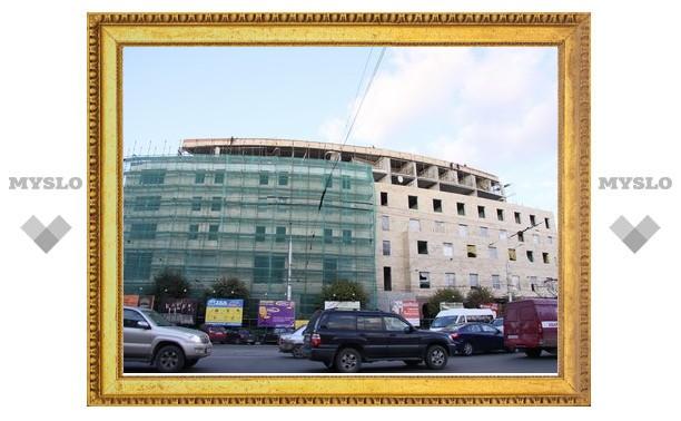 Строительство гостиницы в центре Тулы узаконят?