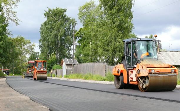 В Заокском районе практически закончен ремонт дорог