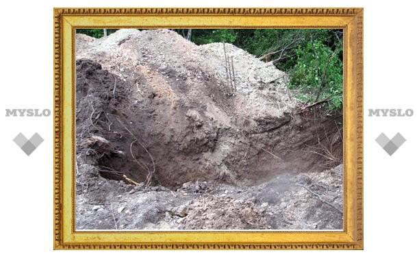Под Тулой нашли десять истлевших трупов