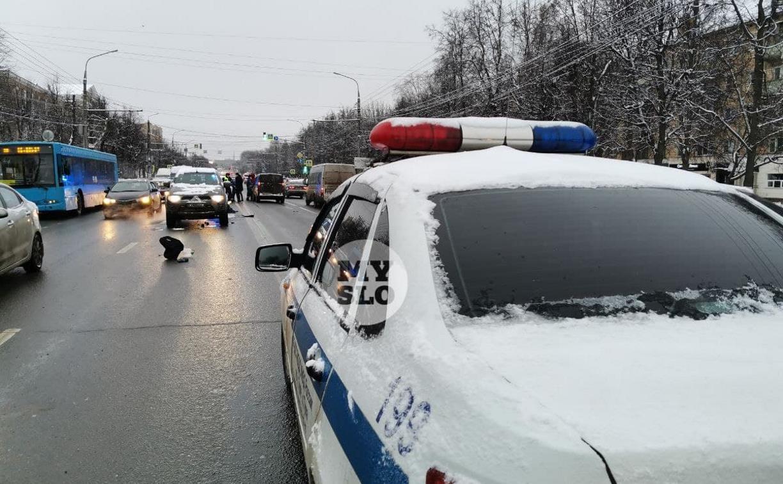 На проспекте Ленина в Туле два водителя насмерть сбили пешехода