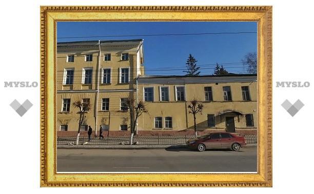 В центре Тулы появилось «здание-призрак»?