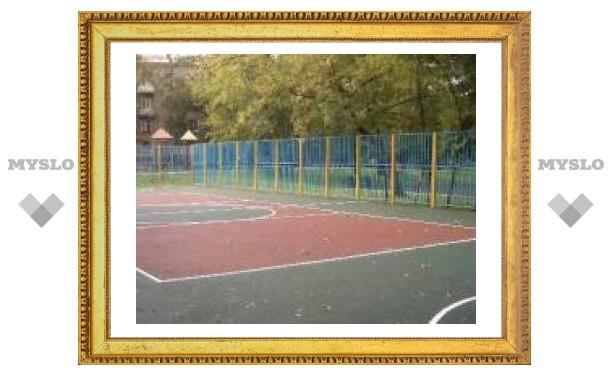 Детская спортплощадка открылась в Киреевске
