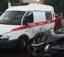 В Туле столкнулись машина скорой помощи и «Тойота»