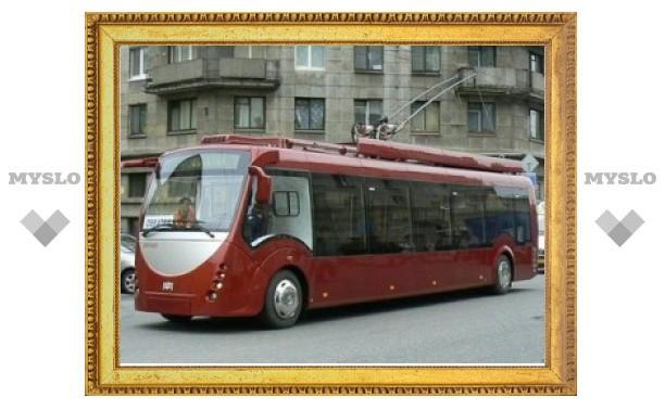 На улицы Тулы выйдут первые 2 из 10 современных низкопольных троллейбусов