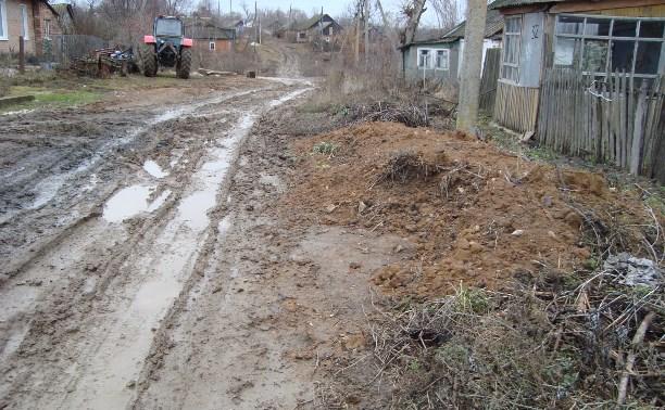 Жители села Мишенское оказались «отрезанными от мира» из-за бездорожья