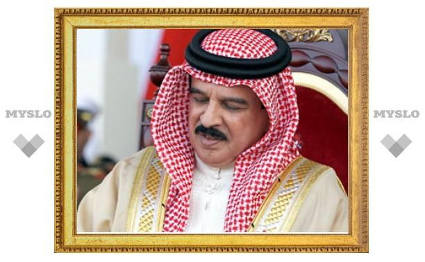 Король Бахрейна обвинил иностранные СМИ в разжигании насилия