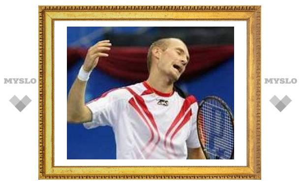 Давыденко проиграл 102-й ракетке мира на турнире в Санкт-Петербурге