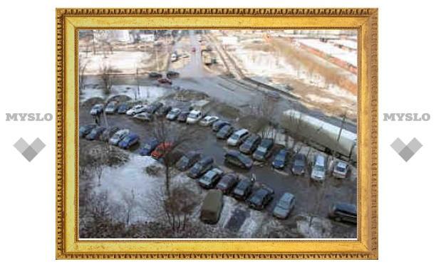 В Химках взорвался полицейский автомобиль