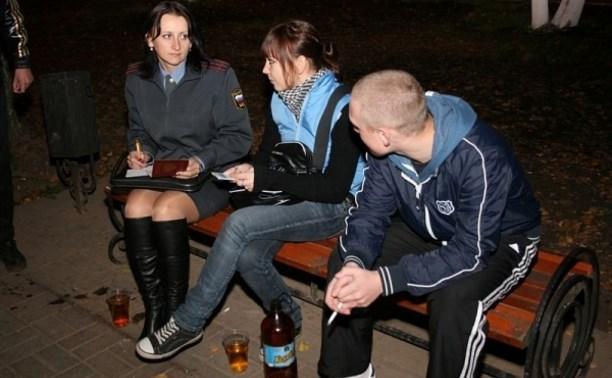 В Туле начались рейды по выявлению подростков на ночных улицах города