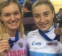 Анастасия Войнова завоевала золото в командном спринте на чемпионате Европы по велоспорту