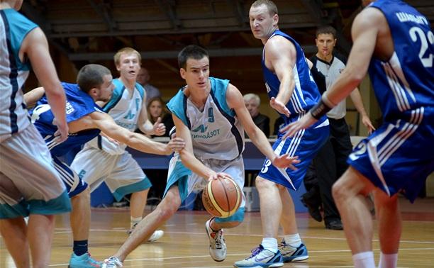 Баскетболисты «Тула-ЩекиноАзот» начали новый сезон