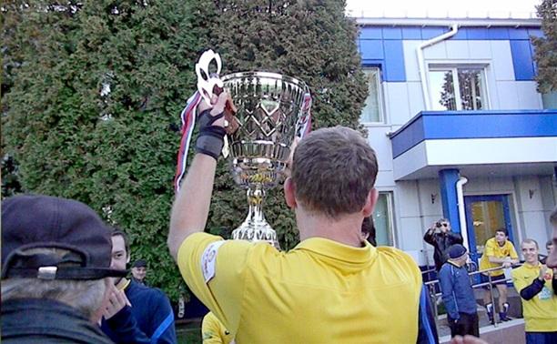 В Тульской области определился чемпион по футболу