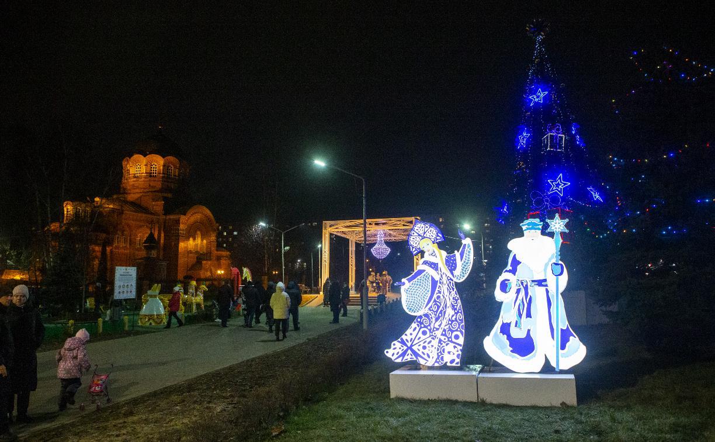Тулу начали украшать к Новому году