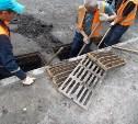 В Туле продолжается ремонт ливневок