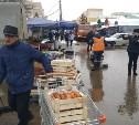 В Туле ликвидировано 16 незаконных торговых палаток на Плехановском рынке