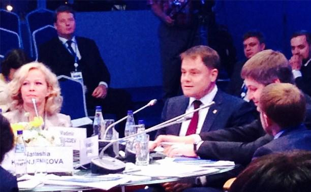 Владимир Груздев обратится к Президенту РФ с предложением