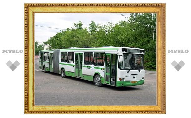 Тульские автобусы изменят маршруты
