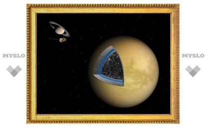 Астрофизики выяснили внутреннее строение Титана