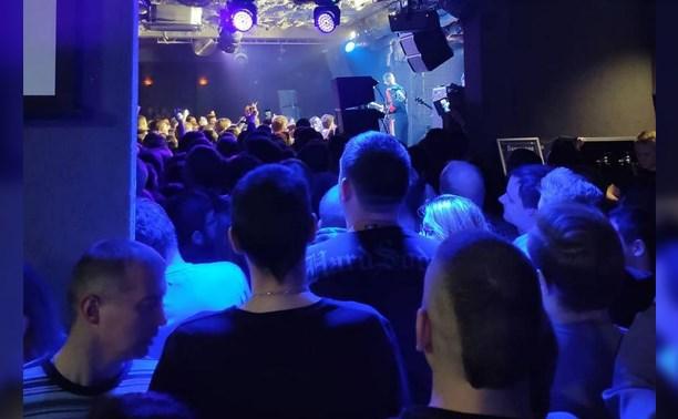 Зрители возмущены организацией концерта Noize MC в Туле