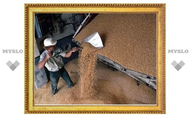 Россия приостановила зерновые интервенции