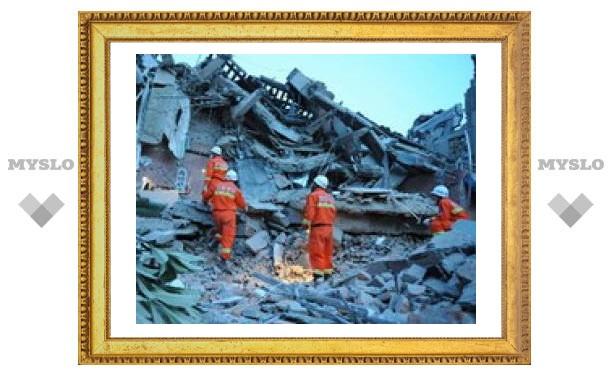 Новое землетрясение в Китае