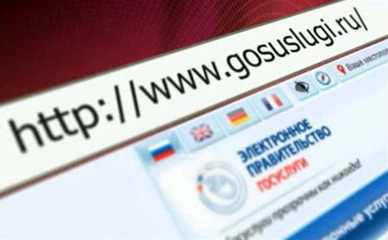Тульская область стала первой по доле зарегистрированных на портале госуслуг