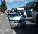 В Туле на проспекте Ленина произошло тройное ДТП