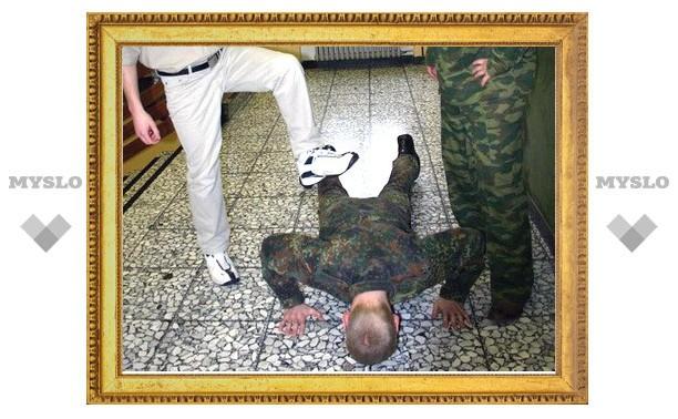 Два тульских солдата получили по три года колонии